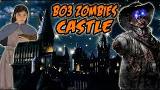 Black Ops 3 Zombies Easter Egg: WORLD OF THE ICE GIANTS - Secret Castle DLC (BO3 Zombies Storyline)