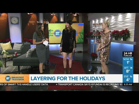 Layering for the holidays