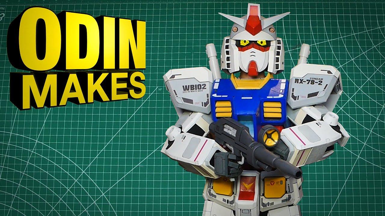 Odin Makes: RX-78-2 Gundam primary Beam Weapon