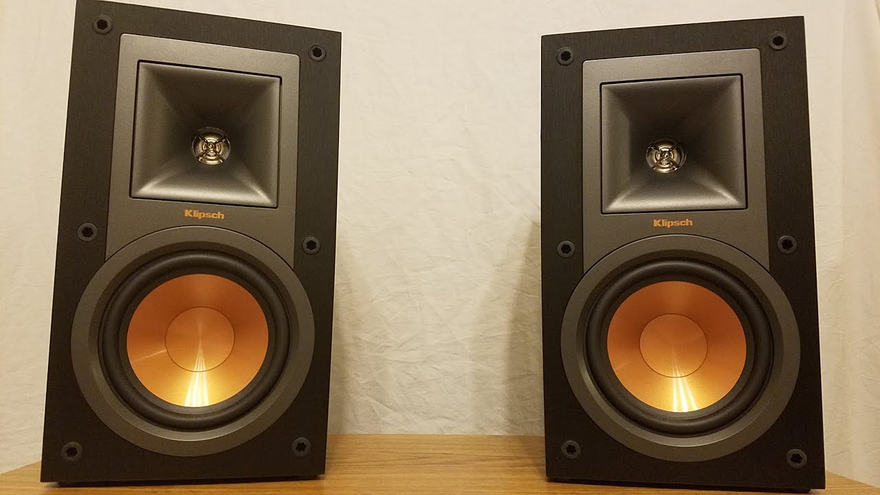 bookshelf reference speakers youtube watch klipsch r unboxing