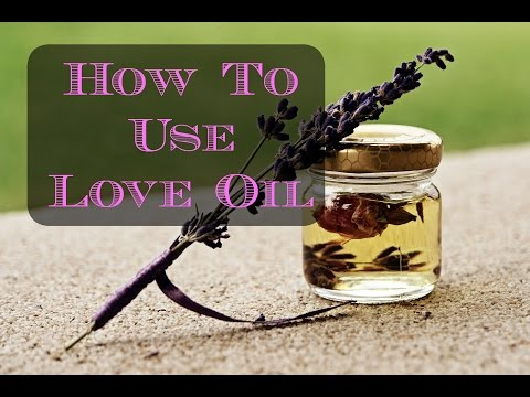 how to make anointing oil