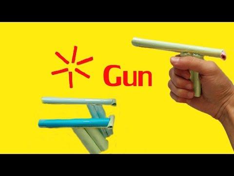 Kağıttan Silah Nasıl Yapılır? - Kağıttan Silah Yapımı | Origami Silah