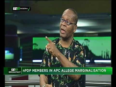 TVC Breakast 11th May 2018 | nPDP Members allege Marginalisation