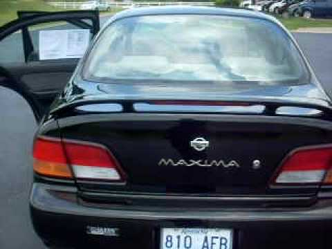 1999 nissan maxima se youtube. Black Bedroom Furniture Sets. Home Design Ideas