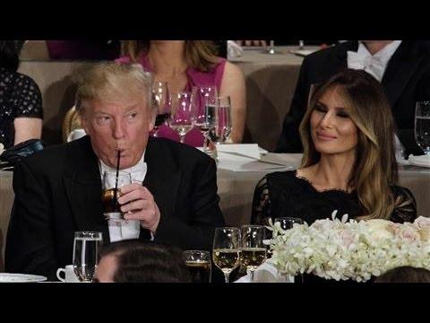 Al Smith Gala: Trump on Melania