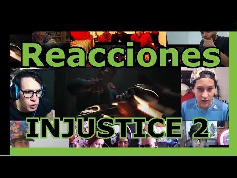 Recopilación de Reacciones: Injustice 2 Trailer / Reactions Mashup Dc Comics