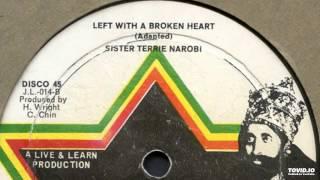 "Sister Terrie Nairobi - Left With A Broken Heart (12"")"