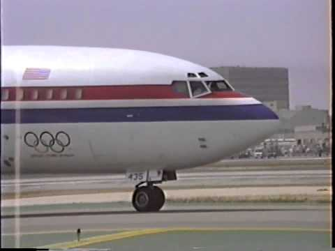 United States Postal Service Boeing 727-51C Arriving LAX