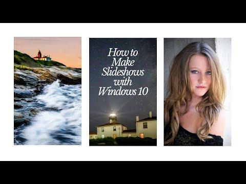 How To Make A Slideshow On Windows 10
