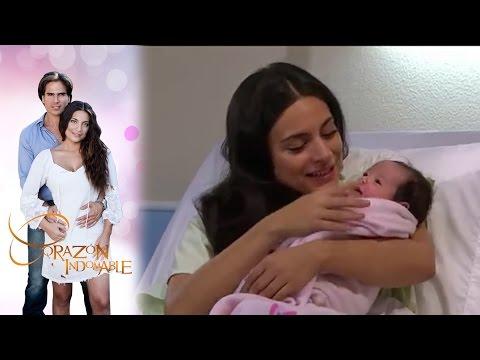 ¡Maricruz da a luz  Corazón indomable - Televisa