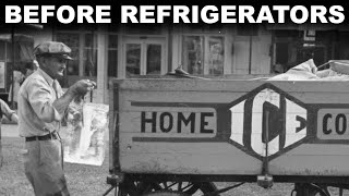 How people kept stuff cold before refrigerators