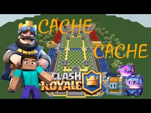 CACHE CACHE MINECRAFT MAP CLASH ROYALE | CLASH OF CLANS PS4 FR