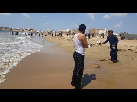 Sandspit beach karachi