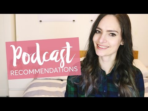 Podcast recommendations - for while you work | CharliMarieTV