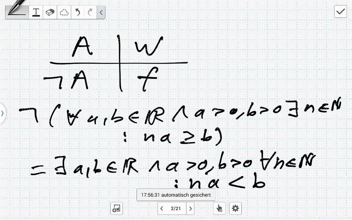 Das Archimedes Axiom (Analysis) - YouTube