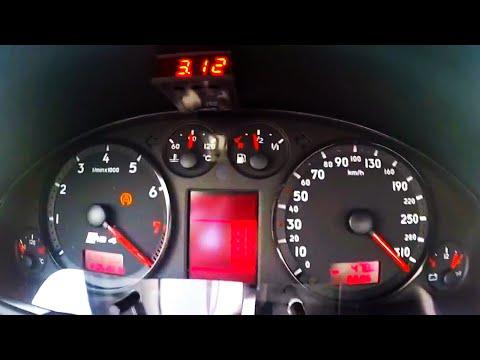 1200HP Audi RS4 B5 Biturbo Acceleration 0-300 Sound