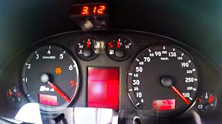 1200HP Audi RS4 B5 Biturbo Acceleration 0-300 Sound