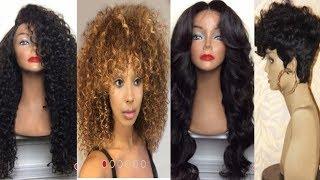 $10 SYNTHETIC WIGS TRY ON HAUL FT. DRESSLILY.COM