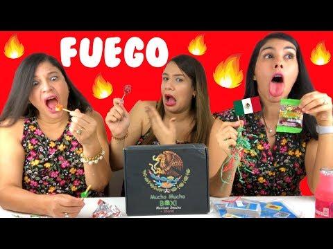 Probando DULCES MEXICANOS 🇲🇽 2 | Comiendo los Dulces más Picantes del MUNDO 🌎