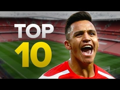Arsenal's Top 10 Goal Scorers Ever | Ft. Thierry Henry  & Joe Hulme
