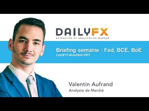 Briefing de la semaine : Fed, BCE, BoE, Inflation UK & US