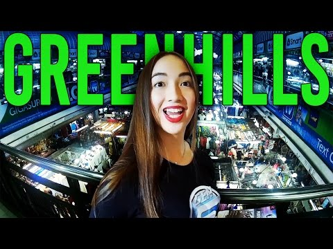 GREENHILLS SHOPPING CENTER IN MANILA PHILIPPINES | SHAVED HEAD & MEETING FILIPINAS