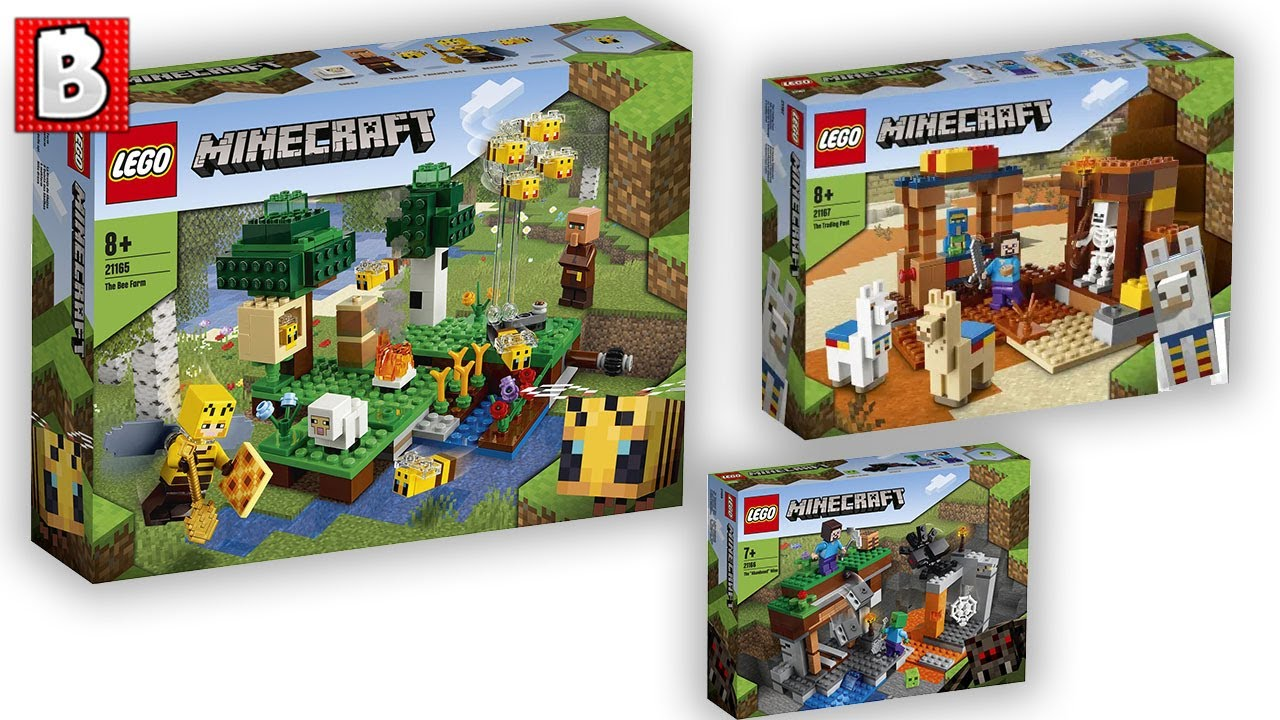 New Minecraft Sets Revealed! | LEGO News