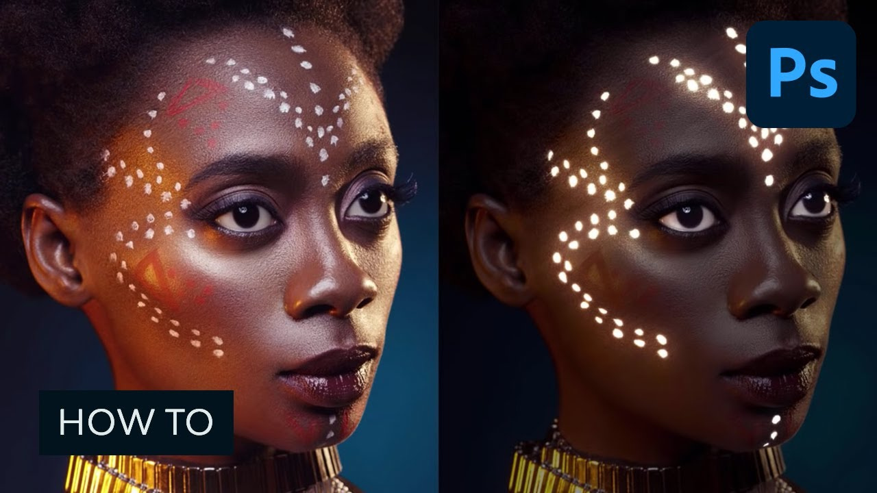 How to Make a Glowing Photo Effect to a Portrait in Photoshop