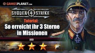 Sudden Strike 4 – Taktik-Tipps: So kommt ihr an 3 Sterne ★★★ | Tutorial
