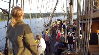 Lady Washington Evening Sail