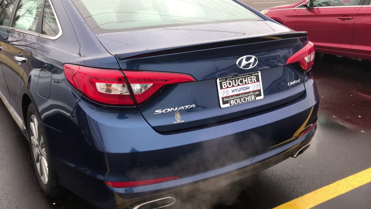 New 2017 Hyundai Sonata Limited With The Ultimate Boucher Of Janesville