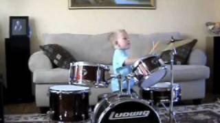 the best kid drummer ever 3 year old ben
