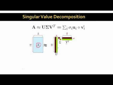 Singular Value Decomposition | Stanford University