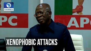 Oshiomhole Asks FG To Nationalise South African Owned Businesses