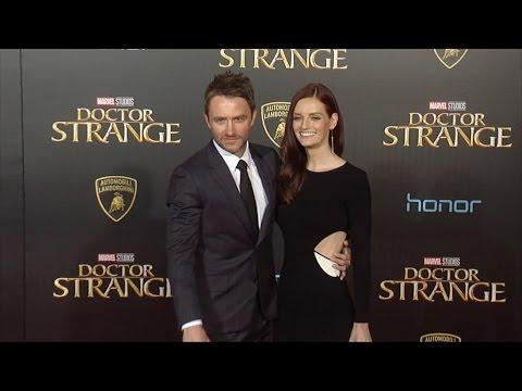 """Lydia Hearst & Chris Hardwick """"Doctor Strange"""" World Premiere Red Carpet"""