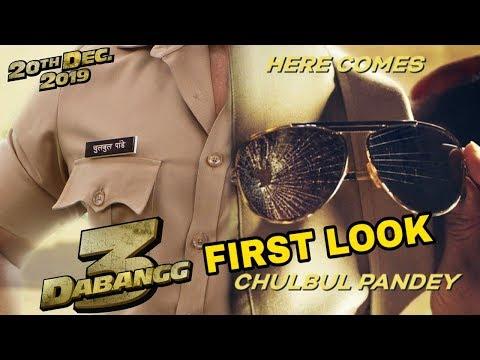 Dabangg 3 First Look | Release Date Official Announce | Salman Khan, Sonakshi Sinha