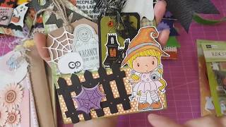 More 3 in 1 Halloween Treat Holders and a Happy Mail from Faith N Frankie!!