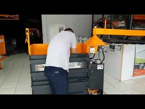 Caixas prensas hidráulicas Budny