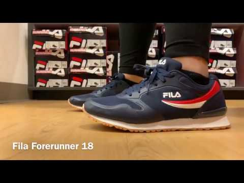 How to Wear Fila Forerunner 18's - YouTube