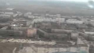 Южноукраинск с вертолета