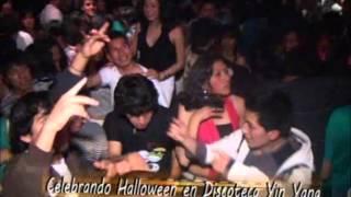 HALLOWEEN EN DISCOTECA YIN YANG PILCOMAYO - HUANCAYO PONE