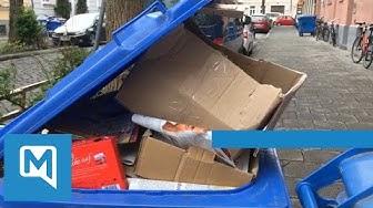 Coronavirus - Mülltonnen quellen über