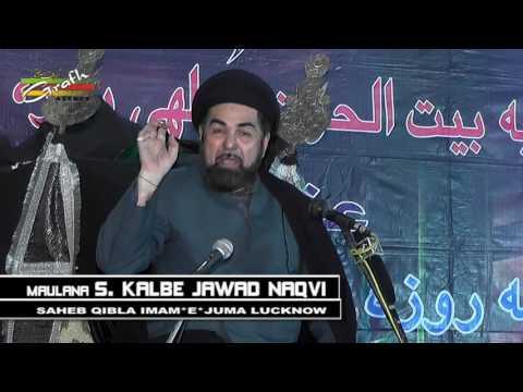 Maulana Kalbe Jawad Naqvi | 3 Roza Majalis 1438 2017 | Husainia Baitul Huzn Dulhaipur
