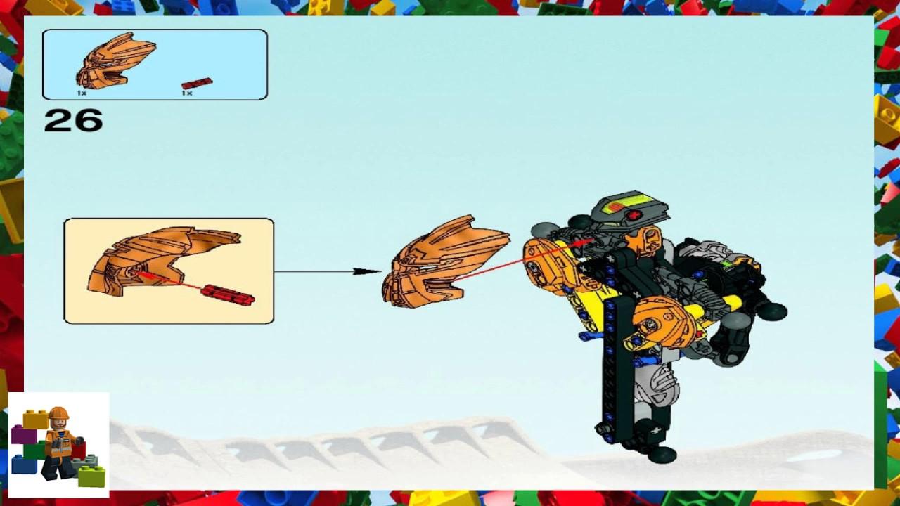Toa vakama 8601 lego bionicle building instructions lego. Com.