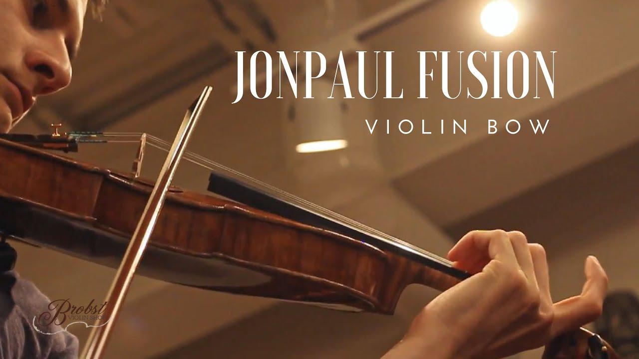 JonPaul Fusion Violin Bows at Brobst Violin Shop