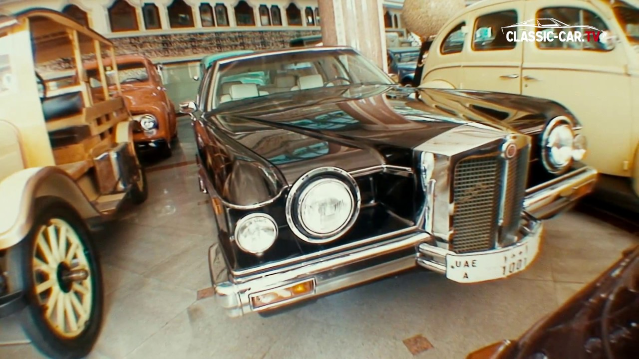Al Serkal Classic Car Museum Dubai - YouTube