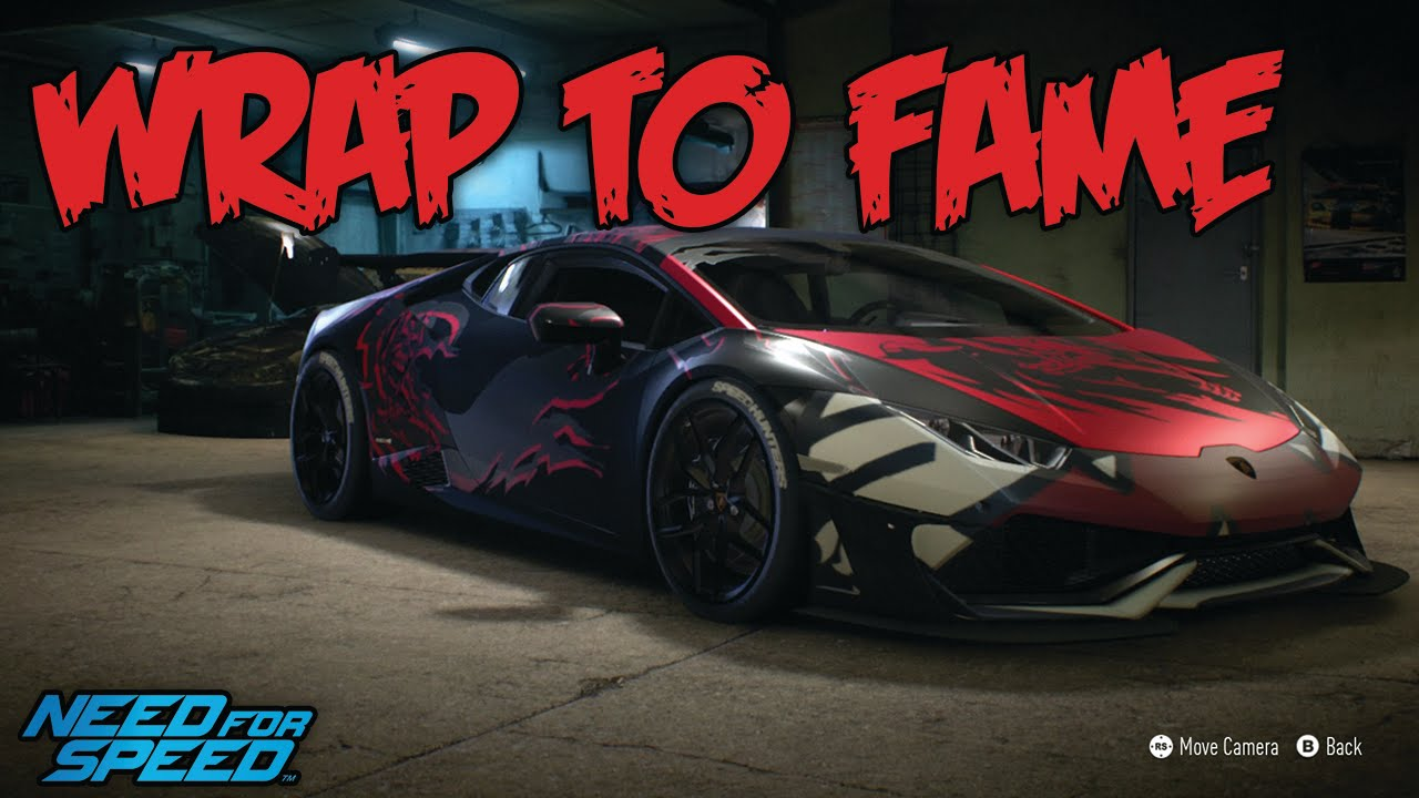 need for speed lamborghini huracan wrap to fame youtube. Black Bedroom Furniture Sets. Home Design Ideas