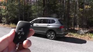 2018 VW Tiguan SEL how to use remote start
