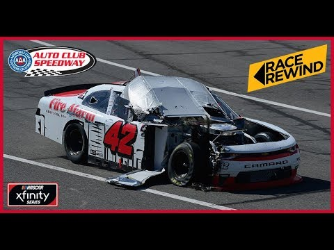 Fontana Xfinity Series Race in 15 minutes