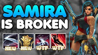 *SAMIRA NEW CHAMPION* THE MOST INSANE KIT OF LEAGUE HISTORY! (FULL GAMEPLAY) - League of Legends